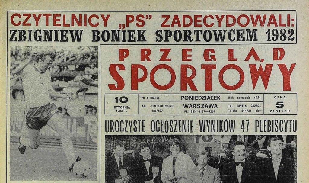 plebiscyt przeglądu sportowego boniek