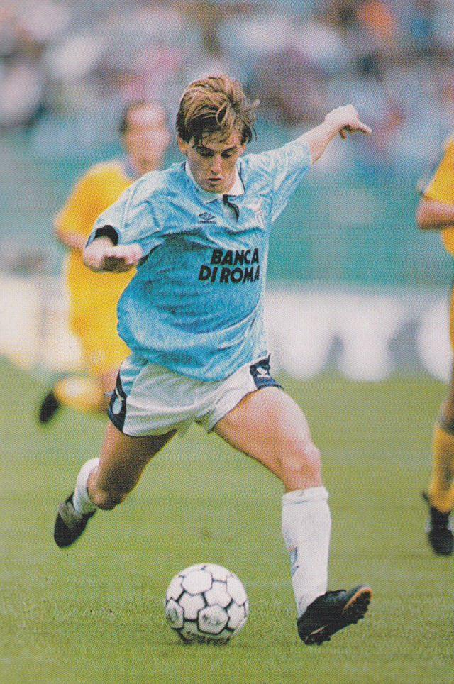 Debiutancki sezon wbarwach Lazio był wręcz wymarzony; źródło: wikipedia.org