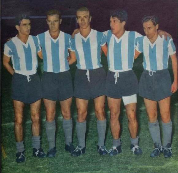 Los Ángeles Carasucias, Corbatta, Maschio, Angelillo, Sívori iCruz
